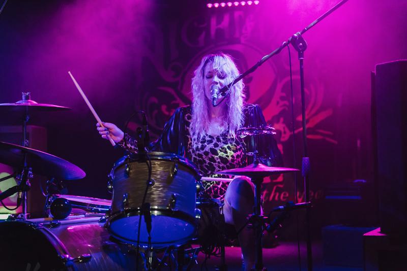 Drummer, Leopard print,