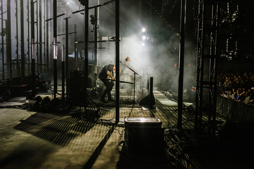 Behind the scenes with Sigur Ros live at Forest Hills Stadium, Queens - New York USA